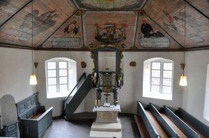 Foto 2 - Interior Gereja Protestan Schmillinghausen