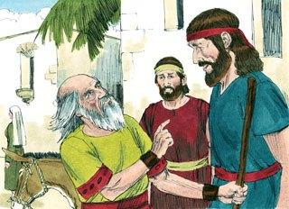 Samuel bertemu Saul