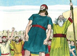Saul terpilih sebagai raja Israel
