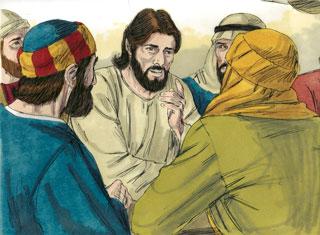 Yesus Terangkat ke Sorga