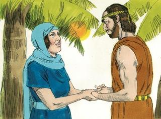 Debora memanggil Barak bin Abinoam dari Kedesh